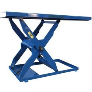 Hydraulic simple scissor lift table